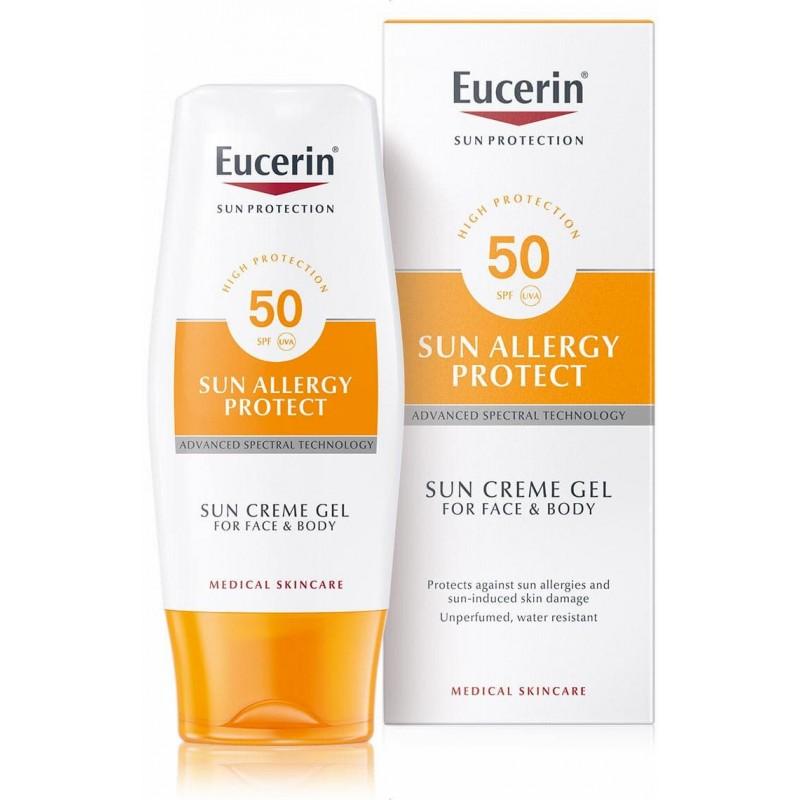 Eucerin Solar Creme-Gel Proteção Alergias SPF 50 - 150 mL - comprar Eucerin Solar Creme-Gel Proteção Alergias SPF 50 - 150 mL...