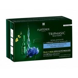 René Furterer Triphasic Reactional - 12 ampolas - comprar René Furterer Triphasic Reactional - 12 ampolas online - Farmácia B...