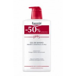 Eucerin Pele Sensível pH5 Gel de Lavagem c/ Desconto 50% - 1L - comprar Eucerin Pele Sensível pH5 Gel de Lavagem c/ Desconto ...
