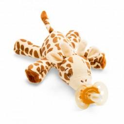 Philips Avent Ultra Soft Snuggle Girafa com Chupeta Laranja 0-6M - 1 peluche + 1 chupeta - comprar Philips Avent Ultra Soft S...
