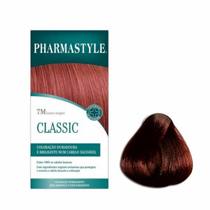 Pharmastyle Classic 7M Louro Mogno - 1 Kit de Coloração - comprar Pharmastyle Classic 7M Louro Mogno - 1 Kit de Coloração onl...