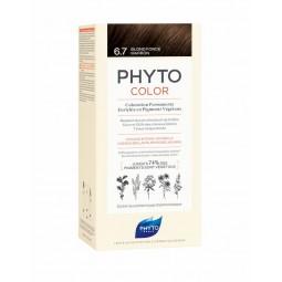 Phyto Phytocolor Coloração Permanente 6.7 Louro Escuro Marrom - 1 Kit de Coloração - comprar Phyto Phytocolor Coloração Perma...