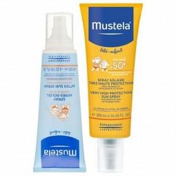 Mustela Leite Solar Proteção SPF 50+ com Oferta Spray Após-Sol - 200 mL + 125 mL - comprar Mustela Leite Solar Proteção SPF 5...