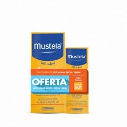 Mustela Solar Leite Protetor SPF 50+ com Oferta de Mustela Solar Leite de Rosto SPF 50+ - 100mL + 40mL - comprar Mustela Sola...