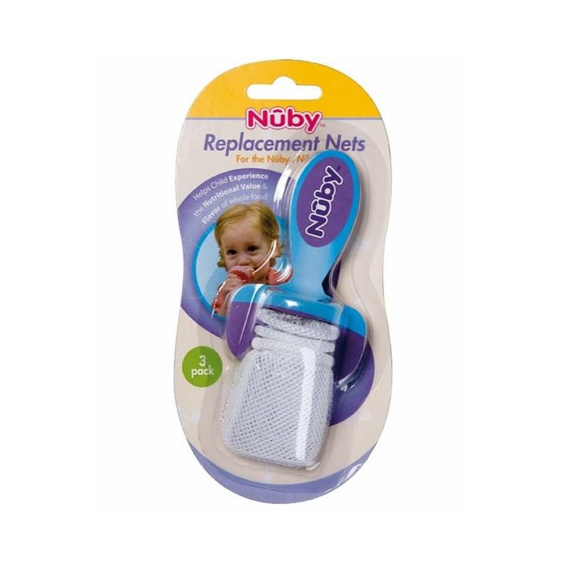 Nûby Papa Frutas com Recarga em Rede - 3 unidades - comprar Nûby Papa Frutas com Recarga em Rede - 3 unidades online - Farmác...