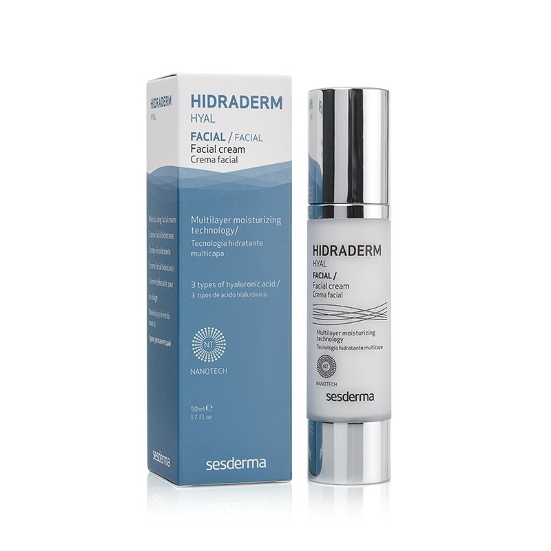 Sesderma Hidraderm Hyal Creme Facial - 50 mL - comprar Sesderma Hidraderm Hyal Creme Facial - 50 mL online - Farmácia Barreir...