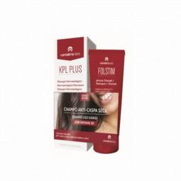 KPL Plus Champô Dermatológico Anti-caspa e Anti-seborreico + Folstim Physio Champô por 3€ - 200mL + 200mL - comprar KPL Plus ...