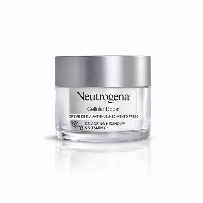 Neutrogena Cellular Boost Creme Dia SPF 20 - 50mL - comprar Neutrogena Cellular Boost Creme Dia SPF 20 - 50mL online - Farmác...