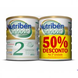 Nutribén Innova 2 Leite Transição c/ Desconto 50% 2 Unidade - 2 x 800g - comprar Nutribén Innova 2 Leite Transição c/ Descont...