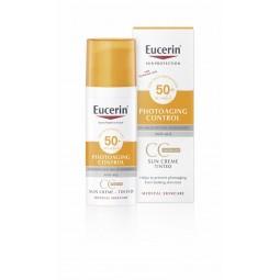 Eucerin Photoaging Control CC Creme Solar SPF 50+ Médio - 50mL - comprar Eucerin Photoaging Control CC Creme Solar SPF 50+ Mé...