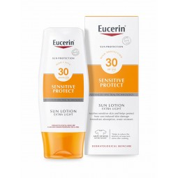 Eucerin Sensitive Protect Loção Extra Light SPF 30 - 150mL - comprar Eucerin Sensitive Protect Loção Extra Light SPF 30 - 150...