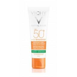 Vichy Capital Soleil Creme Matificante 3 em 1 SPF50+ - 50mL - comprar Vichy Capital Soleil Creme Matificante 3 em 1 SPF50+ - ...