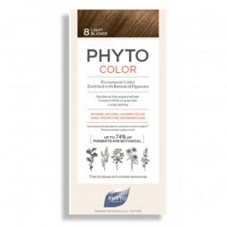 Phyto Phytocolor Coloração Permanente 8 Louro Claro - 1 Kit de Coloração - comprar Phyto Phytocolor Coloração Permanente 8 Lo...
