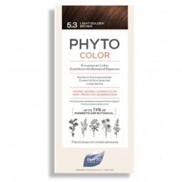 Phyto Phytocolor Coloração Permanente 5.3 Castanho Claro Dourado - 1 Kit de Coloração - comprar Phyto Phytocolor Coloração Pe...