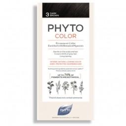 Phyto Phytocolor Coloração Permanente 3 Castanho Escuro - 1 Kit de Coloração - comprar Phyto Phytocolor Coloração Permanente ...