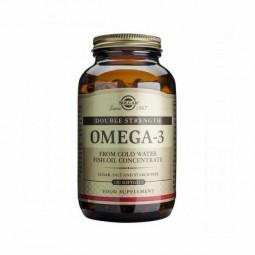 Solgar Omega 3 Double Strenght - 120 cápsulas - comprar Solgar Omega 3 Double Strenght - 120 cápsulas online - Farmácia Barre...