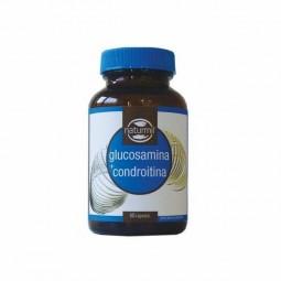 Naturmil Glucosamina + Condroitina - 60 cápsulas - comprar Naturmil Glucosamina + Condroitina - 60 cápsulas online - Farmácia...