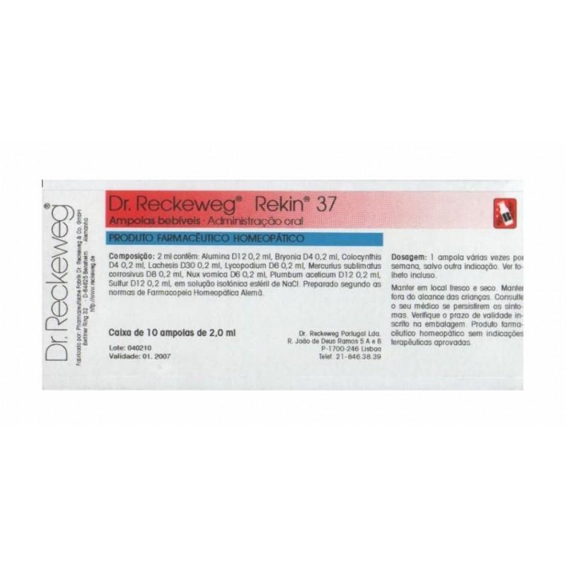 Dr. Reckeweg Rekin 37 - 10 ampolas - comprar Dr. Reckeweg Rekin 37 - 10 ampolas online - Farmácia Barreiros - farmácia de ser...