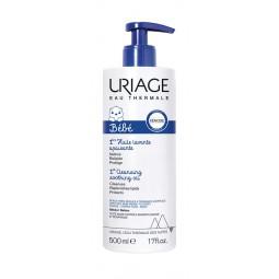 Uriage Bebé 1º Óleo Lavante Apaziguante - 500 mL - comprar Uriage Bebé 1º Óleo Lavante Apaziguante - 500 mL online - Farmácia...