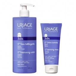 Uriage Bebé 1ª Água de Limpeza com oferta Creme Lavante - 1L + 200 mL - comprar Uriage Bebé 1ª Água de Limpeza com oferta Cre...
