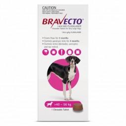 Bravecto Cão 1400mg 40 a 56 Kg - 1 comprimido mastigável - comprar Bravecto Cão 1400mg 40 a 56 Kg - 1 comprimido mastigável o...
