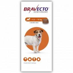 Bravecto Cão 250mg 4,5 a 10kg - 1 comprimido mastigável - comprar Bravecto Cão 250mg 4,5 a 10kg - 1 comprimido mastigável onl...