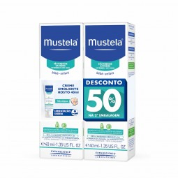 Mustela Bebé Stelatopia Creme Emoliente Rosto Duo com 50% de Desconto na 2ª Unidade - 2 x 40 mL - comprar Mustela Bebé Stelat...