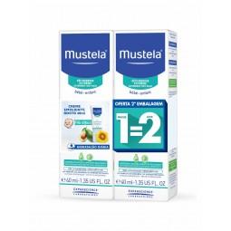Mustela Stelatopia Creme de Rosto - 2 x 40mL - comprar Mustela Stelatopia Creme de Rosto - 2 x 40mL online - Farmácia Barreir...