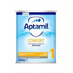 Aptamil Confort 1 Leite Lactente - 400 g - comprar Aptamil Confort 1 Leite Lactente - 400 g online - Farmácia Barreiros - far...