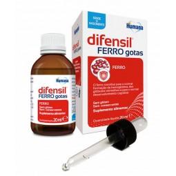 Humana Difensil Ferro Gotas - 20 mL - comprar Humana Difensil Ferro Gotas - 20 mL online - Farmácia Barreiros - farmácia de s...