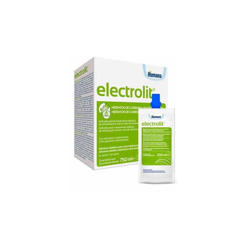 Humana Electrolit Solução Oral - 3 x 250 mL - comprar Humana Electrolit Solução Oral - 3 x 250 mL online - Farmácia Barreiros...