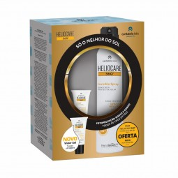 Heliocare 360° Invisible Spray SPF50+ com Oferta Heliocare 360° Water Gel SPF50+ - 200 mL + 15 mL - comprar Heliocare 360° In...