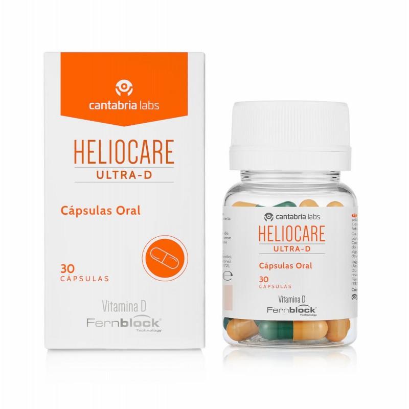 Heliocare Ultra D - 30 cápsulas - comprar Heliocare Ultra D - 30 cápsulas online - Farmácia Barreiros - farmácia de serviço