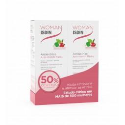 ISDIN Woman Antiestrias Creme Duo c/ 50% Desconto 2ª Embalagem - 2 x 250 mL - comprar ISDIN Woman Antiestrias Creme Duo c/ 50...
