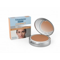 ISDIN Fotoprotector Compact Bronze SPF 50+ - 10 g - comprar ISDIN Fotoprotector Compact Bronze SPF 50+ - 10 g online - Farmác...