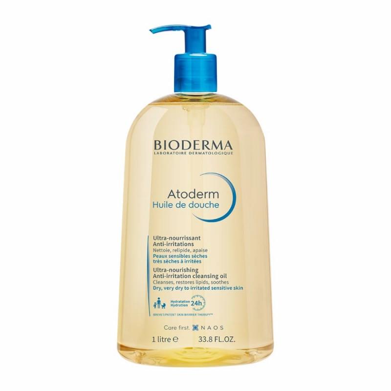 Bioderma Atoderm Óleo de Duche - 1 L - comprar Bioderma Atoderm Óleo de Duche - 1 L online - Farmácia Barreiros - farmácia de...