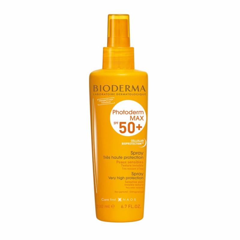 Bioderma Photoderm Max Spray SPF 50+ - 200 mL - comprar Bioderma Photoderm Max Spray SPF 50+ - 200 mL online - Farmácia Barre...