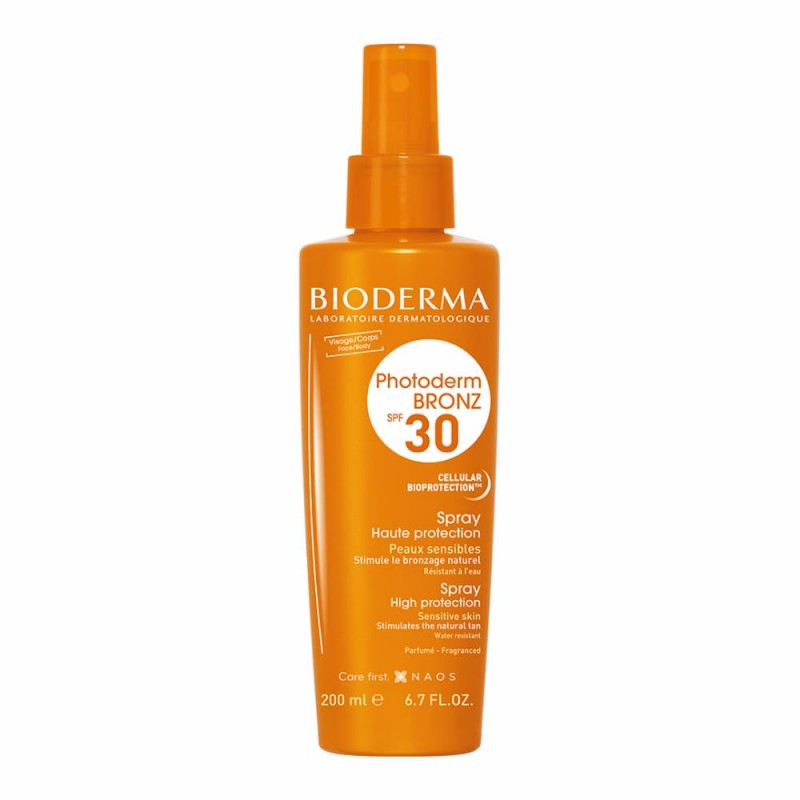 Bioderma Photoderm Bronz Spray SPF 30 - 200 mL - comprar Bioderma Photoderm Bronz Spray SPF 30 - 200 mL online - Farmácia Bar...