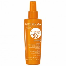 Bioderma Photoderm Bronz Spray SPF 50+ - 200 mL - comprar Bioderma Photoderm Bronz Spray SPF 50+ - 200 mL online - Farmácia B...