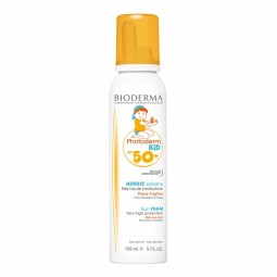 Bioderma Photoderm Kid Mousse SPF 50+ - 150 mL - comprar Bioderma Photoderm Kid Mousse SPF 50+ - 150 mL online - Farmácia Bar...