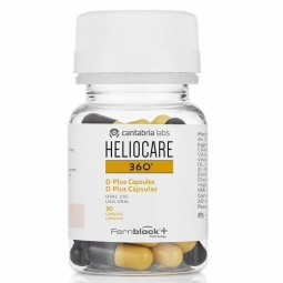 Heliocare 360º D Plus - 30 cápsulas - comprar Heliocare 360º D Plus - 30 cápsulas online - Farmácia Barreiros - farmácia de s...