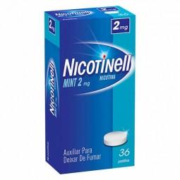 Nicotinell Mint - 2 mg - comprar Nicotinell Mint - 2 mg online - Farmácia Barreiros - farmácia de serviço