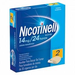 Nicotinell 14 mg/24 horas - 14 sistemas transdérmicos - comprar Nicotinell 14 mg/24 horas - 14 sistemas transdérmicos online ...