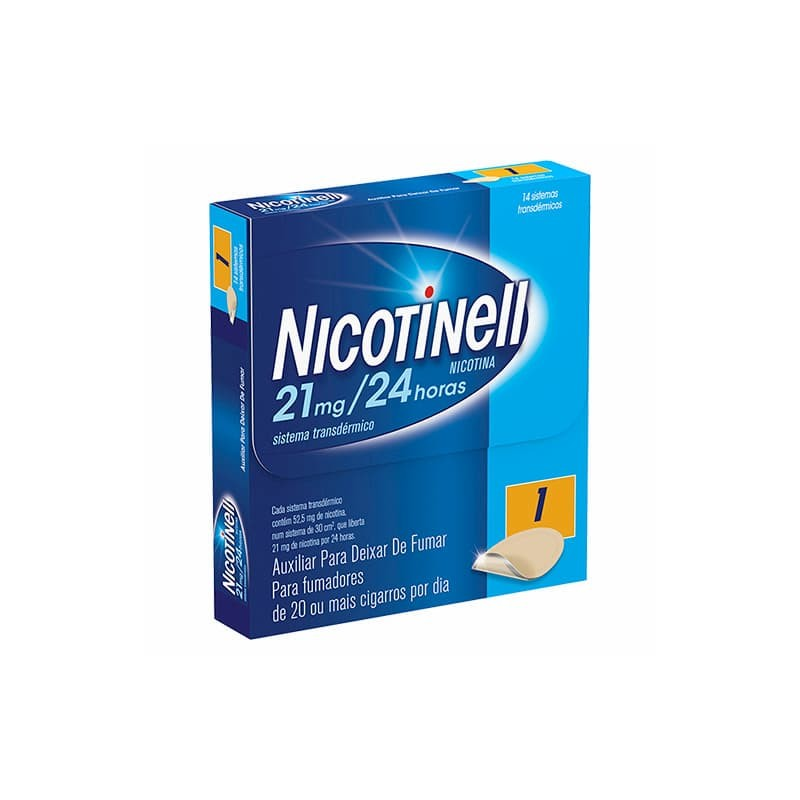 Nicotinell 21 mg/24 horas - 14 sistemas transdérmicos - comprar Nicotinell 21 mg/24 horas - 14 sistemas transdérmicos online ...