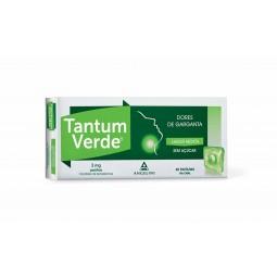 Tantum Verde 3mg - 20 pastilhas - comprar Tantum Verde 3mg - 20 pastilhas online - Farmácia Barreiros - farmácia de serviço