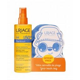 Uriage Bariésun Spray para Crianças SPF50+ com oferta Toalha de Praia - 200mL - comprar Uriage Bariésun Spray para Crianças S...
