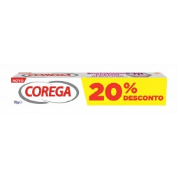 Corega Creme Fixador Protetor Efeito Almofada com 20% de desconto - 70g - comprar Corega Creme Fixador Protetor Efeito Almofa...