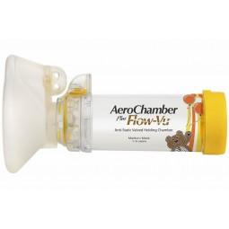 Aerochamber Plus Flow-Vu Máscara Média 1-5 anos - 1 unidade - comprar Aerochamber Plus Flow-Vu Máscara Média 1-5 anos - 1 uni...