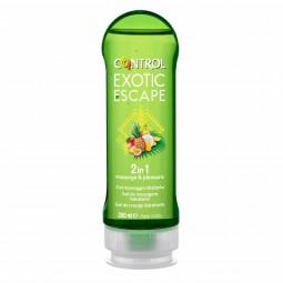 Control 2 in 1 Exotic Escape Gel de Massagem - 200 mL - comprar Control 2 in 1 Exotic Escape Gel de Massagem - 200 mL online ...