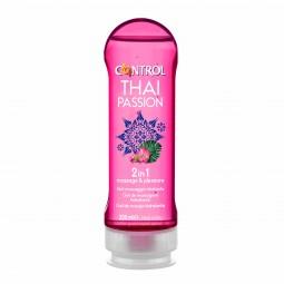 Control 2 in 1 Thai Passion Gel de Massagem - 200 mL - comprar Control 2 in 1 Thai Passion Gel de Massagem - 200 mL online - ...